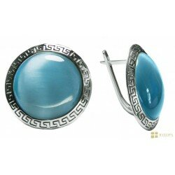 Серьги серебряные женские арт. 130