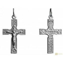 Крестик серебрный арт. 3010