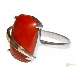 Серебряное кольцо арт. 154