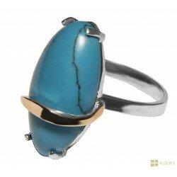 Серебряное кольцо арт.155