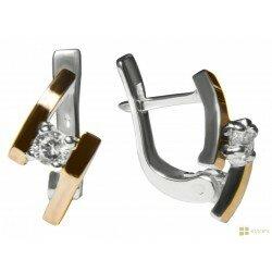 Серебряные серьги арт. 160