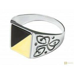 кольцо мужское арт 1008